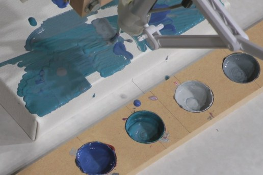 Benjamin Grosser: Interactive Robot Painting Machine