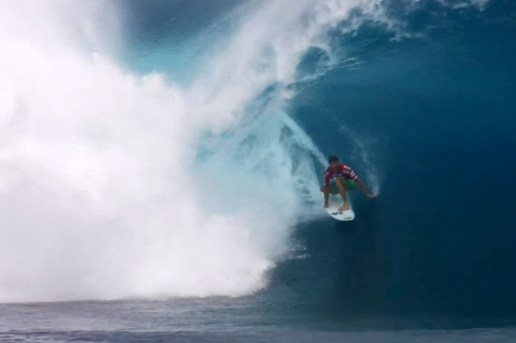 Billabong: Teahupoo from the Phantom HD Camera