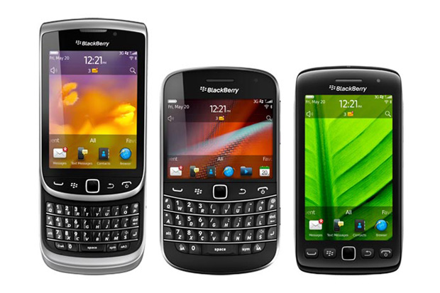 blackberry 7 smartphones