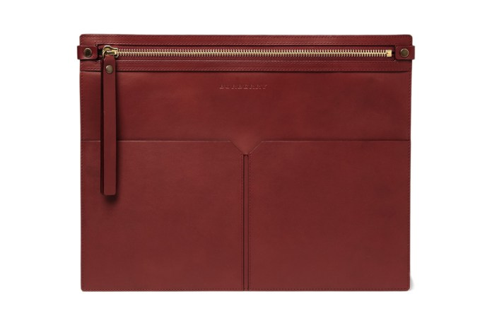 Burberry Leather Document Holder
