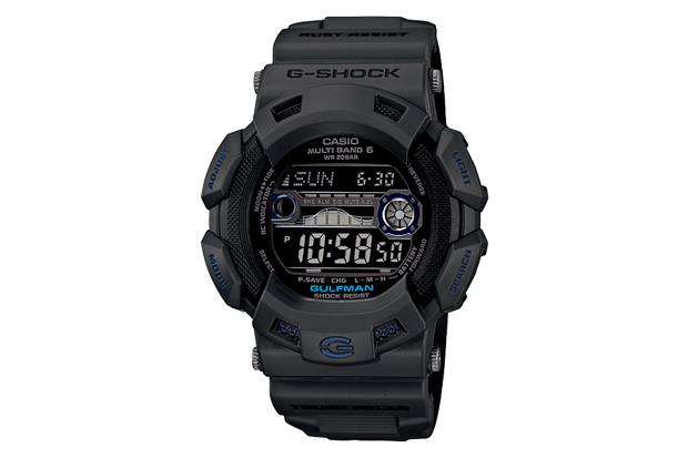 casio g shock men in smoky gray collection