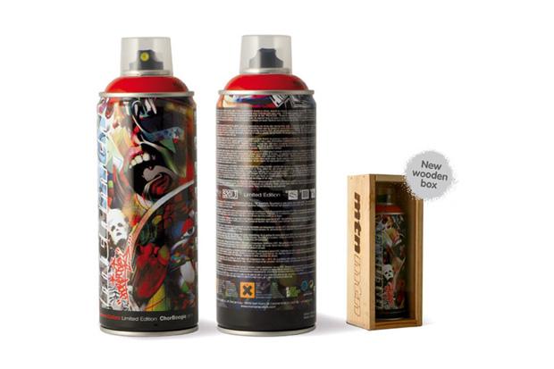 Chor Boogie x Montana Colors Spray Can