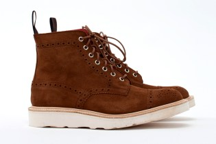 COMME des GARCONS JUNYA WANTANABE MAN x Tricker's Super Boot