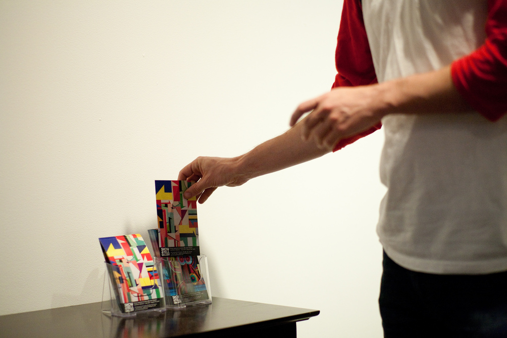 "Dalek & Greg Lamarche ""Geometric Balance"" @ Show & Tell Gallery Recap"