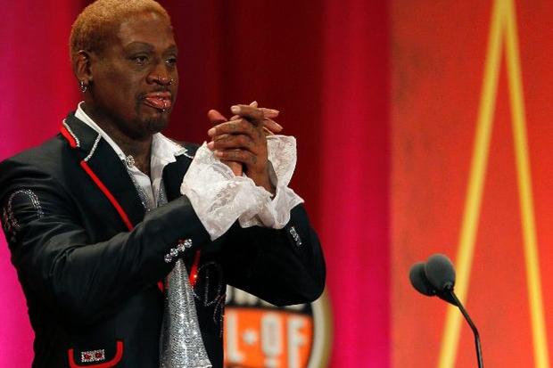 Dennis Rodman Hall of Fame Speech