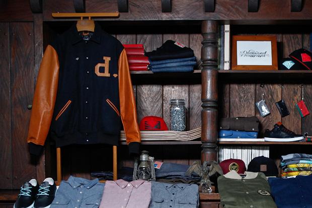 Diamond Supply Co. 2011 Fall/Winter Varsity Jacket