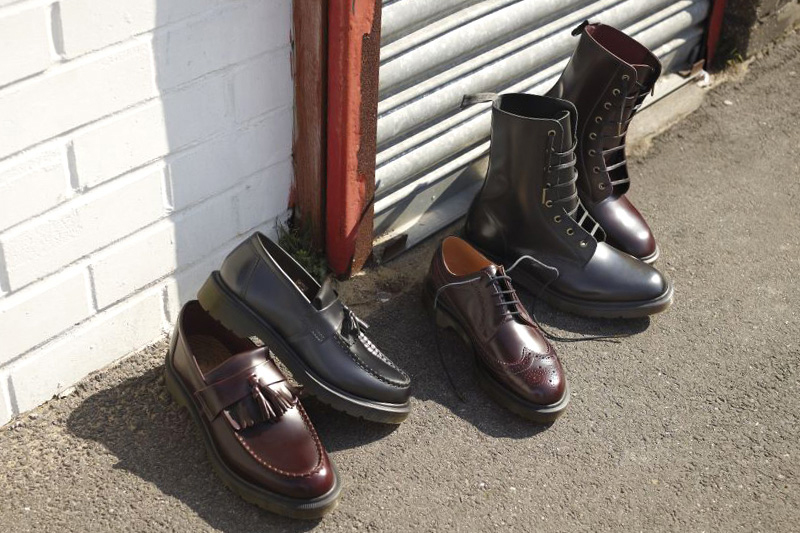 dr martens 2011 fallwinter sharp classics collection