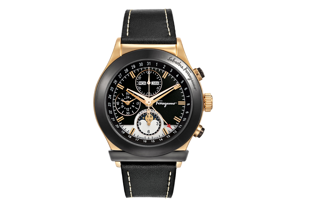 Ferragamo 1898 Moonphase Chronograph