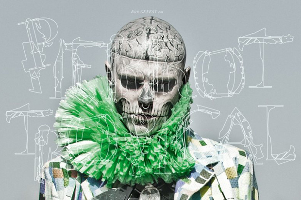 ffw parrot tropical featuring rick genest