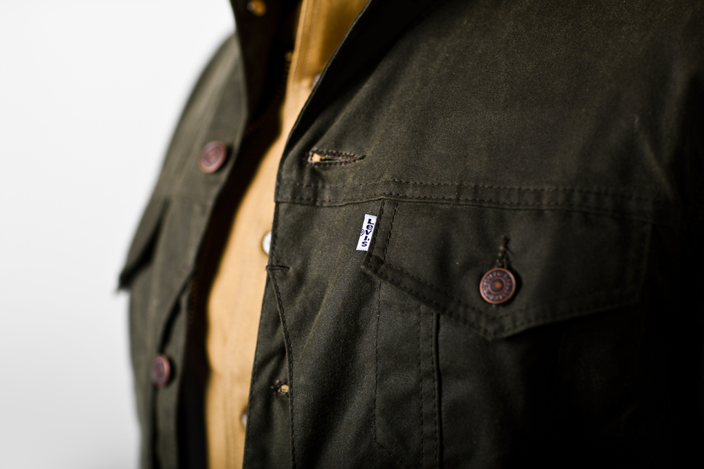 filson x levis 2011 fallwinter collection