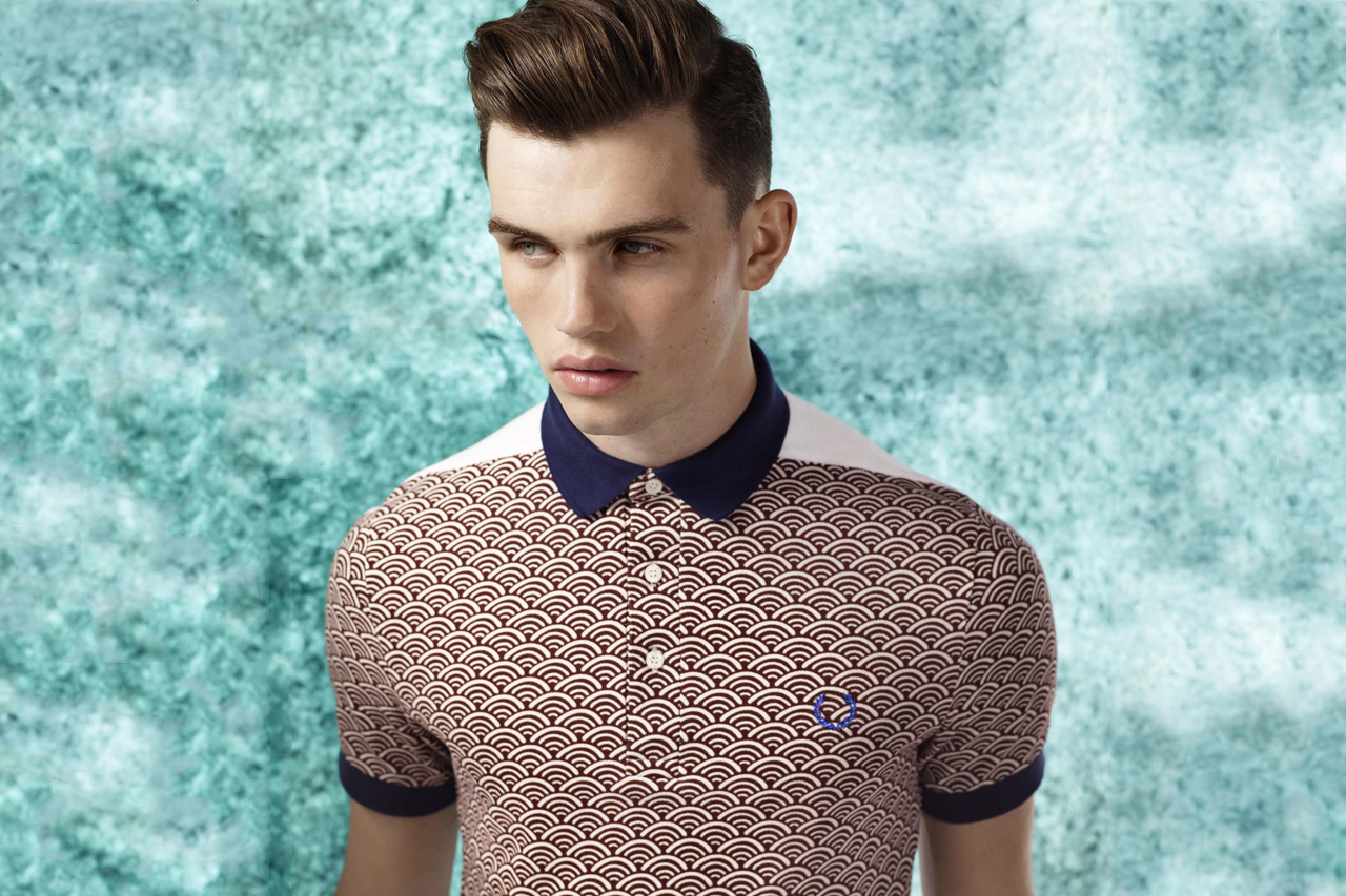 fred perry 2011 fallwinter origami blank canvas collection