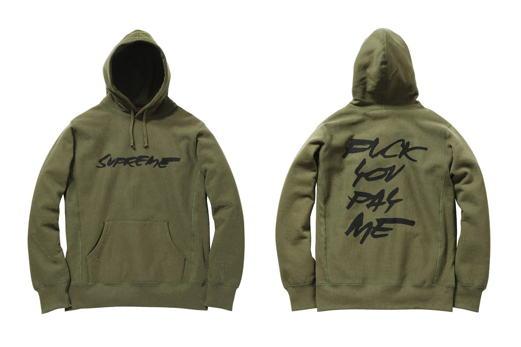 futura x supreme 2011 fallwinter collection