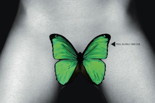 Garage Magazine Cover by Damien Hirst featuring Shauna Taylor