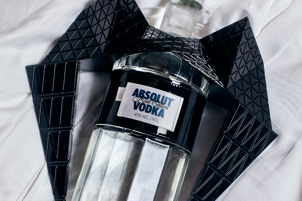 gareth pugh x absolut vodka