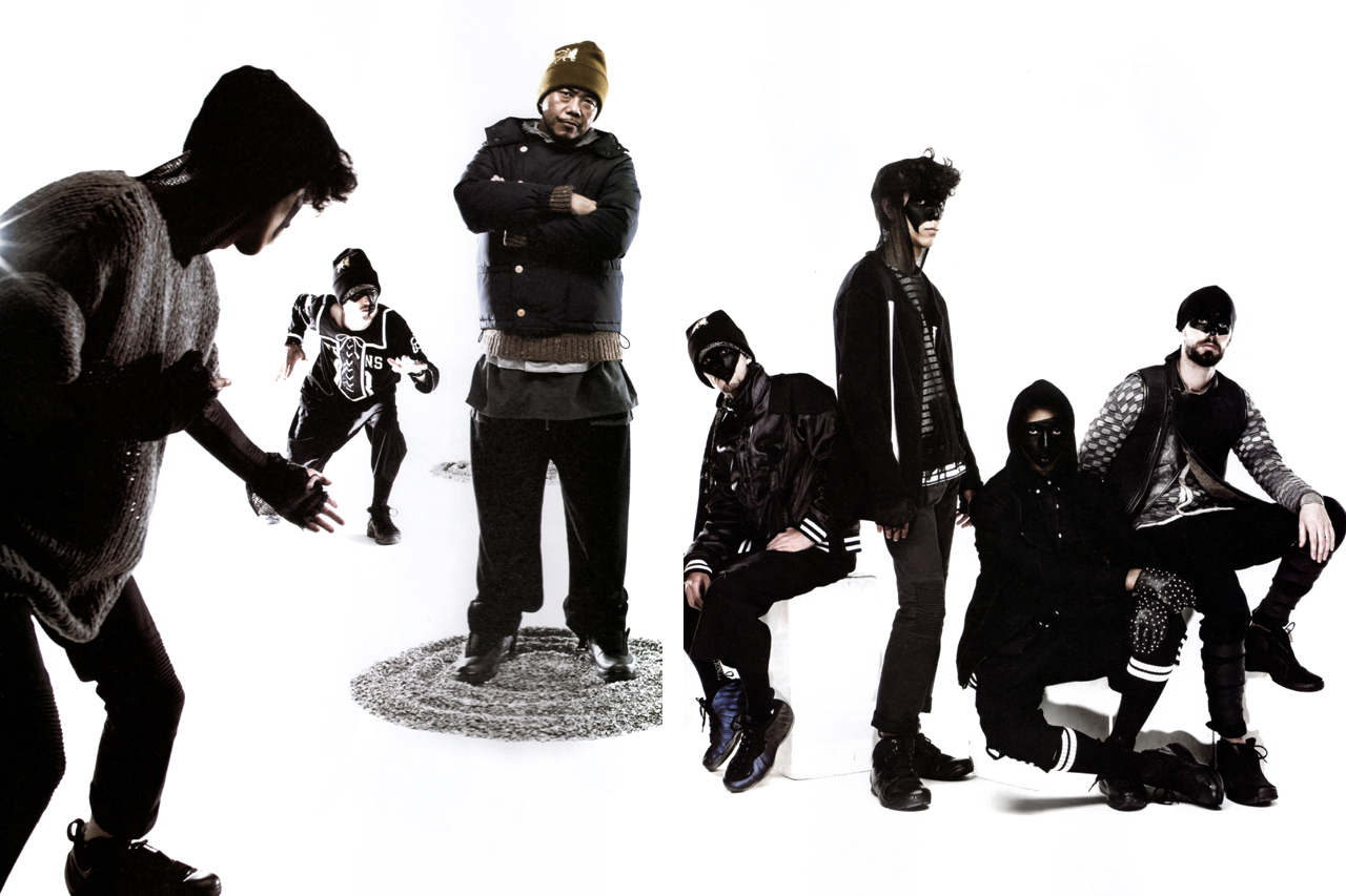 "GRIND Magazine: SASQUATCHfabrix. 2011 Fall/Winter ""Modern Ninja"" Collection"