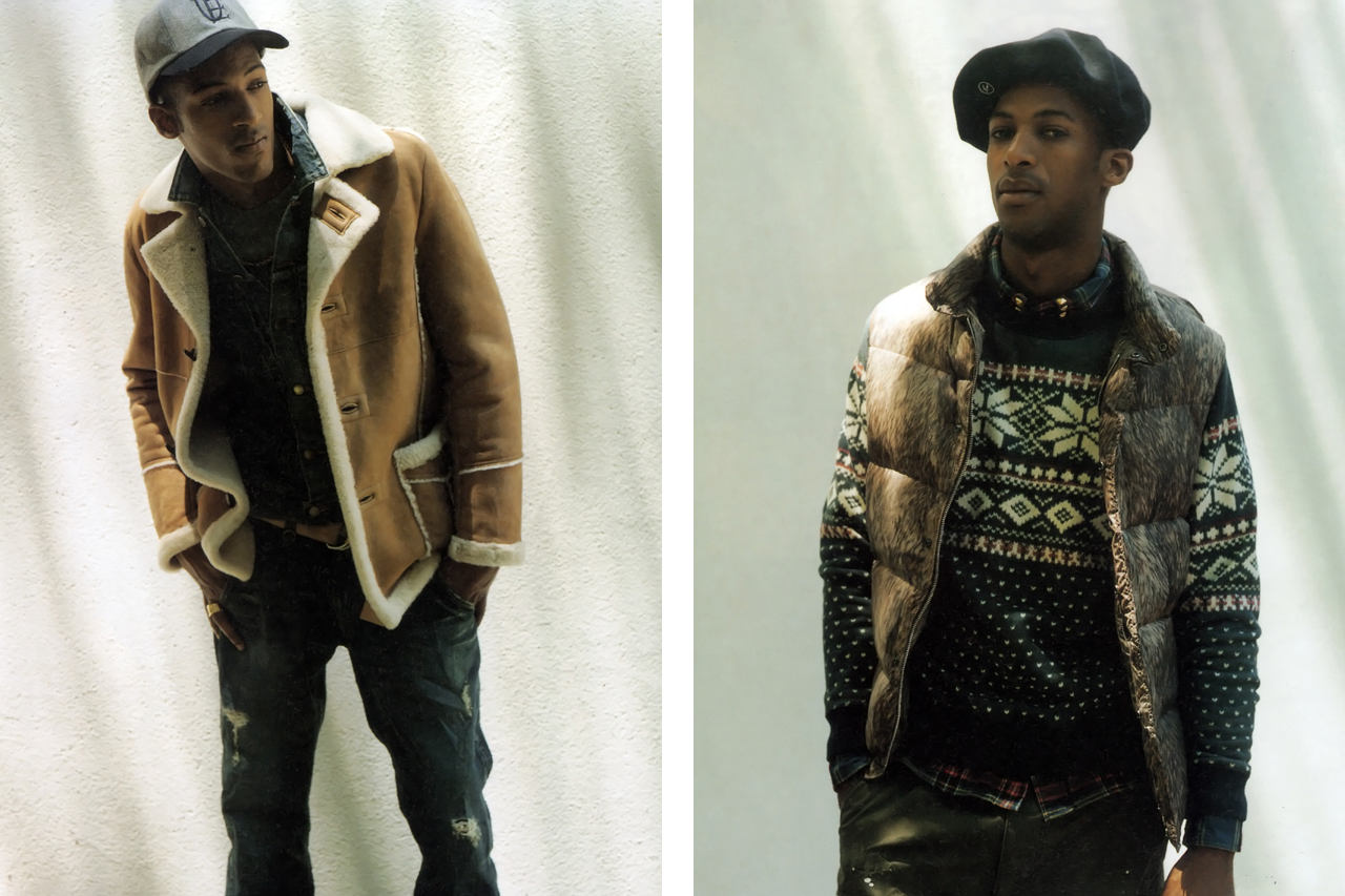 GRIND Magazine: uniform experiment 2011 Fall/Winter Editorial
