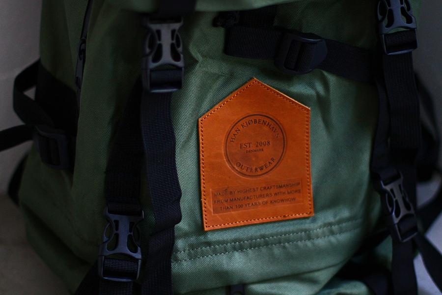 Han Kjobenhavn 2011 Fall/Winter Hill Backpack