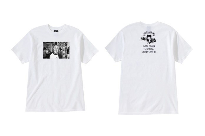 "Heel Bruise x Stussy ""Under the Radar"" T-Shirts"