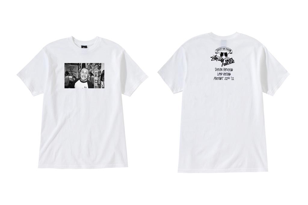 "Heel Bruise x Stussy ""Under the Radar"" T-Shirts"