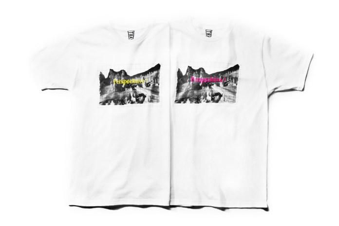 "Hiroshi Fujiwara x TRAVERSE TOKYO ""Perspecktive!"" T-Shirt"