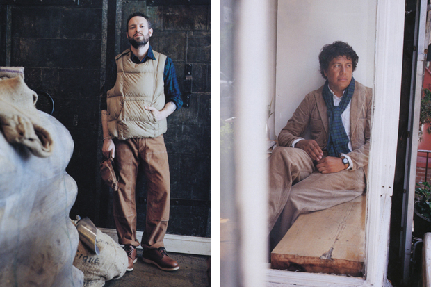 HUgE Magazine: Engineered Garments 2011 Fall/Winter Editorial
