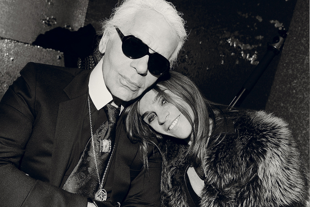 Interview Magazine: Carine Roitfeld Interview with Karl Lagerfeld