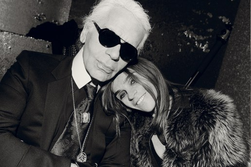 Interview Magazine: Carine Roitfeld Interview with Karl Lagerfeld