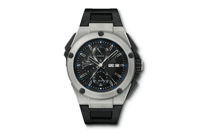 IWC Ingenieur Double Chronograph Titanium Watch
