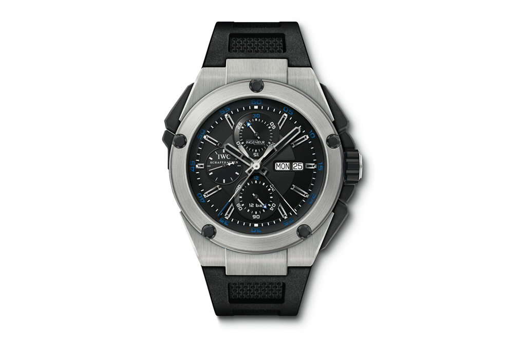 IWC Ingenieur Double Chronograph Titanium Watch