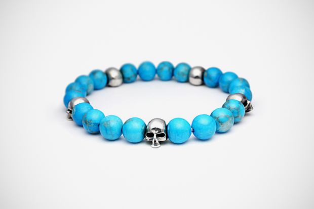 JAM HOME MADE SKULL PRAYER BEADS Bracelet
