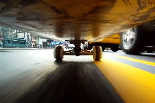Josh Maready: A Skateboard Eye's View of NYC