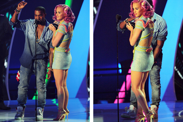 Kanye West Wears Air Yeezy 2 @ 2011 MTV VMA