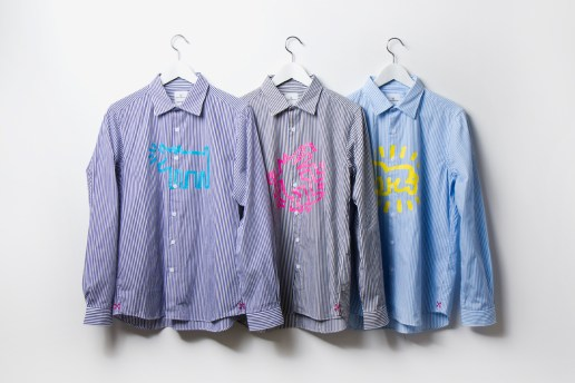 Keith Haring x uniform experiment Dress Shirts