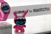 Kidrobot x Swatch in Shanghai