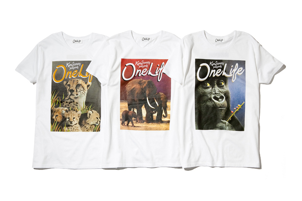 Kim Jones for One Life T-Shirt Series