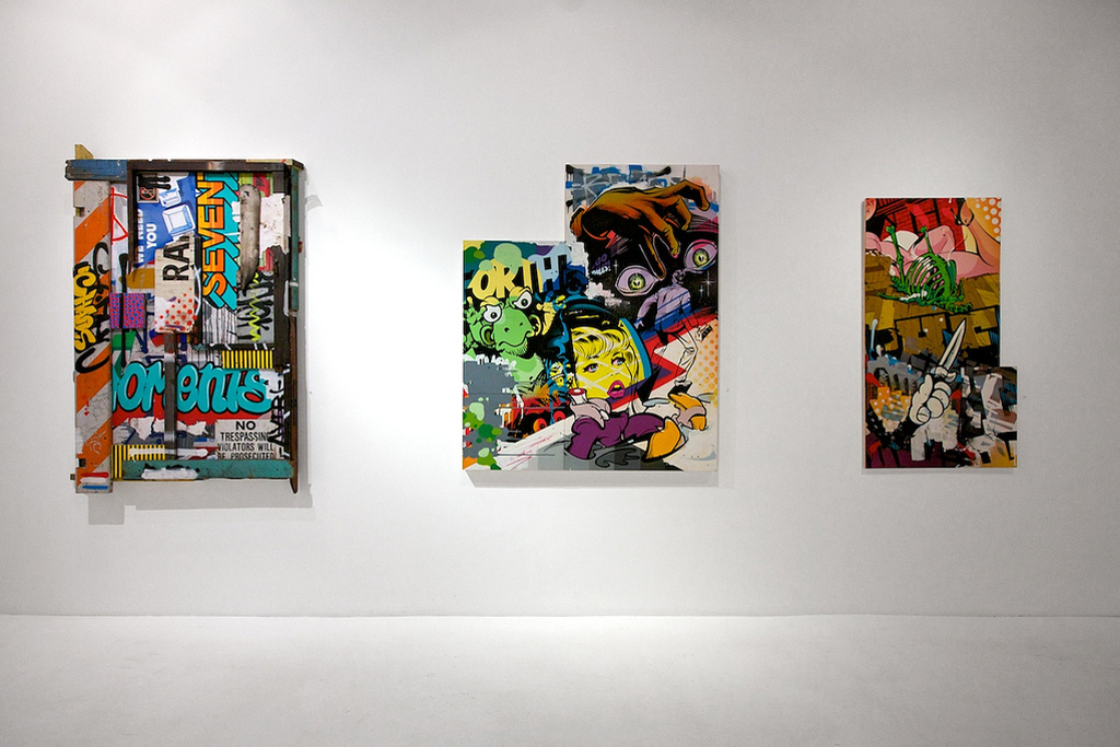 known gallery presents revok x rime x roid perseverance exhibition recap