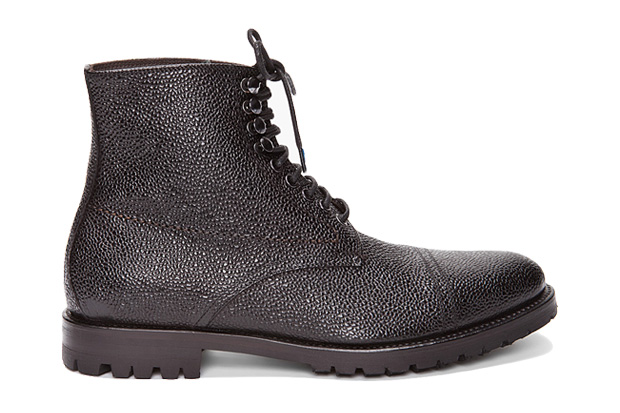 J.Lindeberg Stivaletto Grained Boots