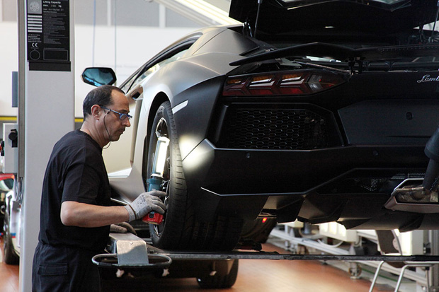 wired a peek inside the lamborghini factory