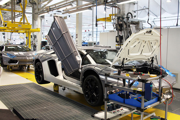 WIRED: A Peek Inside the Lamborghini Factory