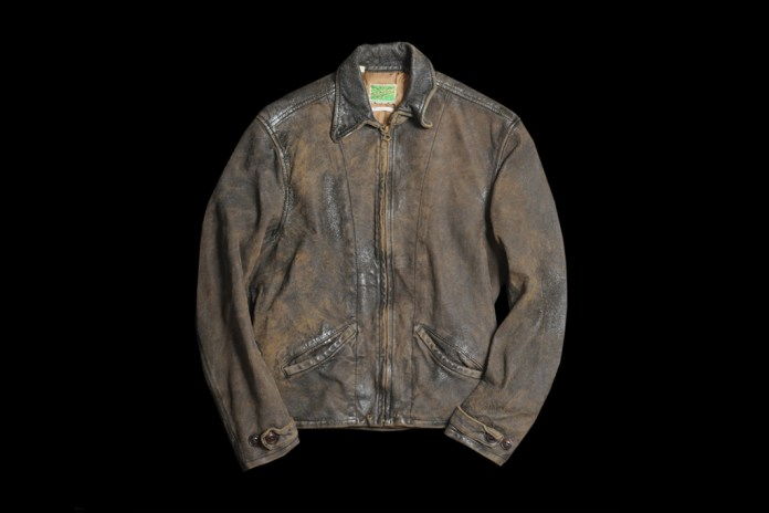 Levi's Vintage Clothing 1930s Menlo Leather Jacket
