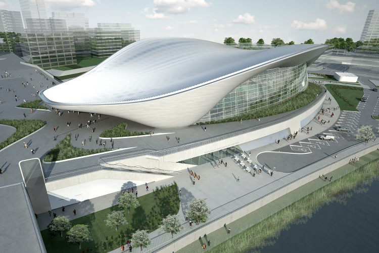 London Aquatics Centre by Zaha Hadid