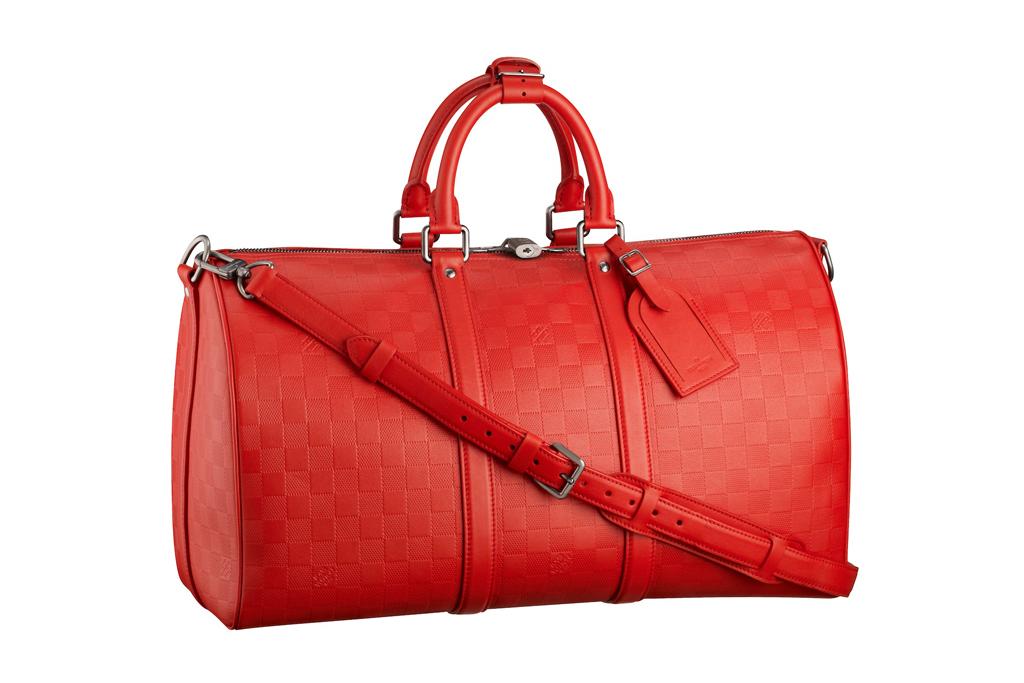 Louis Vuitton Damier Infini Keepall 45 Duffel Bag