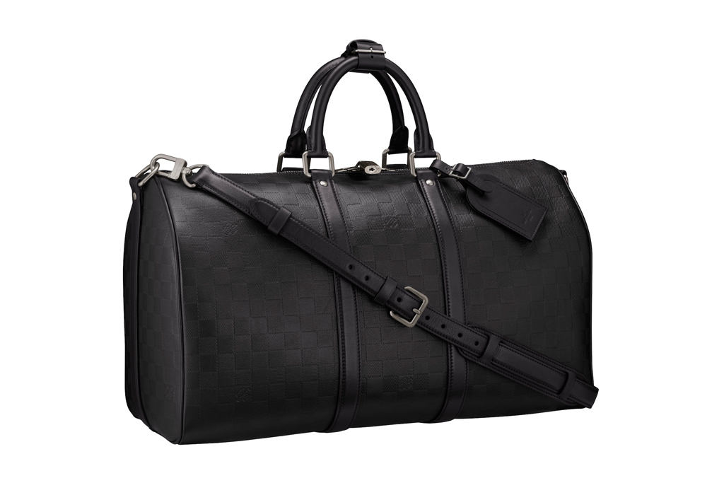 Louis Vuitton Damier Infini Keepall 45 Duffel Bag