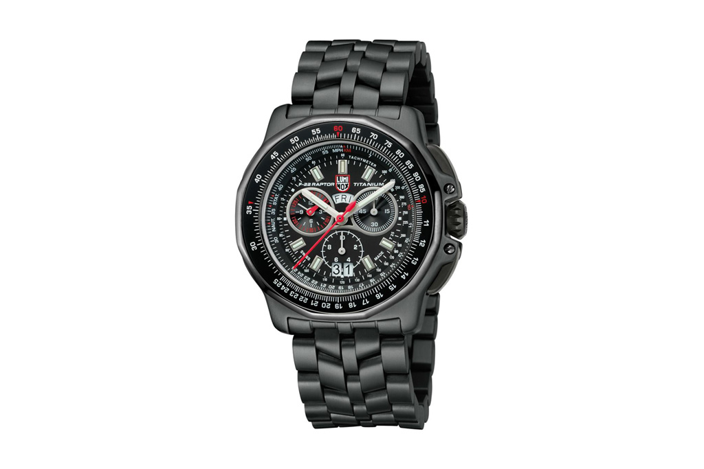 luminox f 22 raptor chronograph