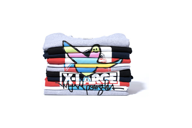 Mark Gonzales x XLARGE Graphic T-Shirts