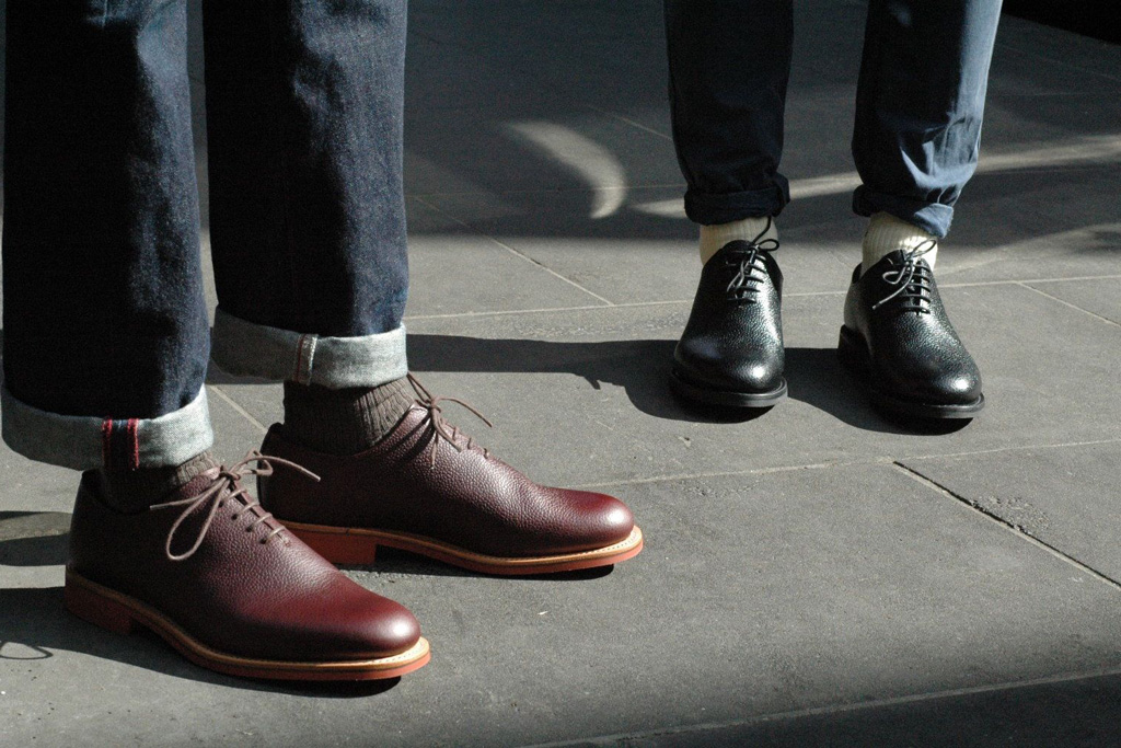 Mark McNairy One Piece Derby Shoe