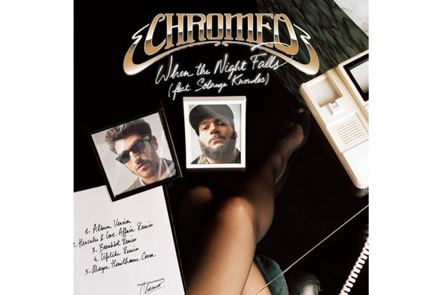mayer hawthorne when the night falls chromeo cover