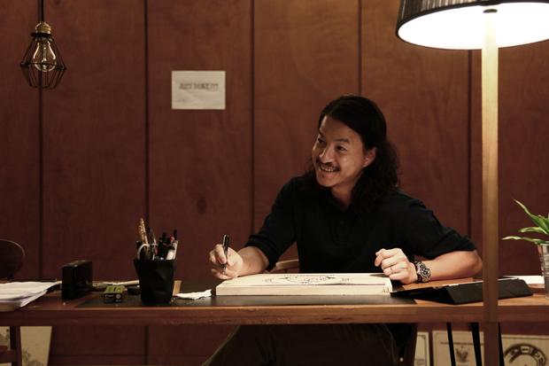 "Michael Lau x Nike ""JUST DO IT"" Exhibition Interview"