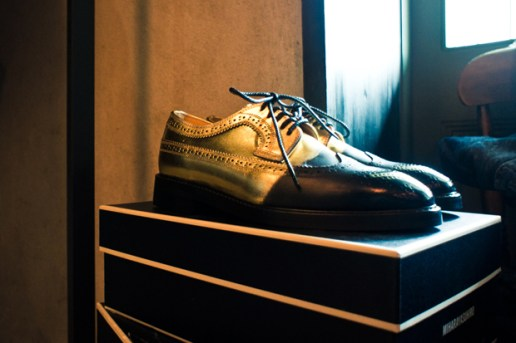 MIHARAYASUHIRO 2011 Fall/Winter Half Longwing Brogues