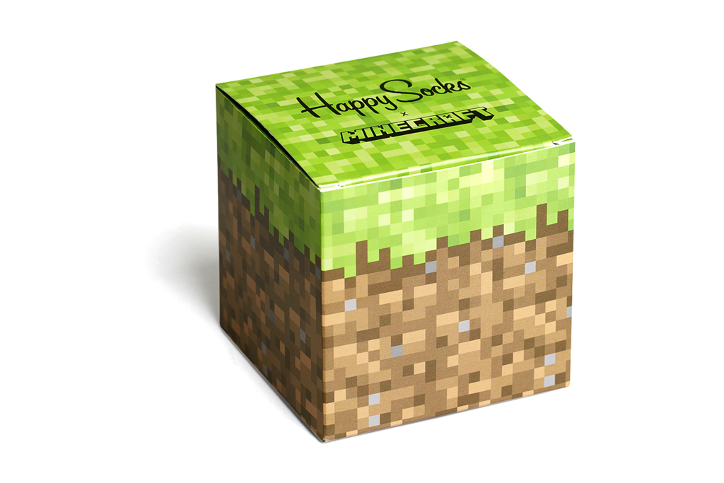 Minecraft x Happy Socks Collection